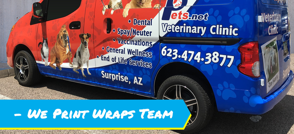 We Print Wraps Team