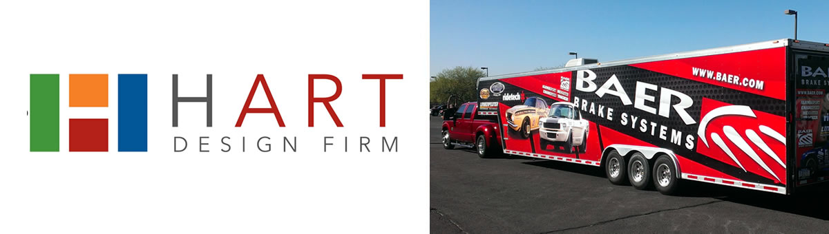 Hart Design Firm | Graphic Design Company for Car Wraps in AZ
