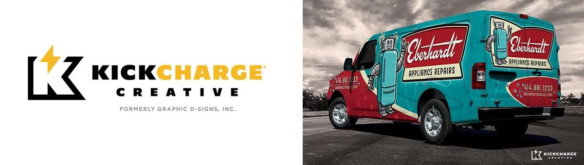 Kick Charge Creative | Custom Wrap Designer in NJ