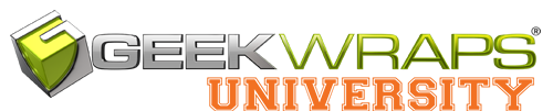 GeekWraps University | 3M Graphics Authorized Training and Testing Facility