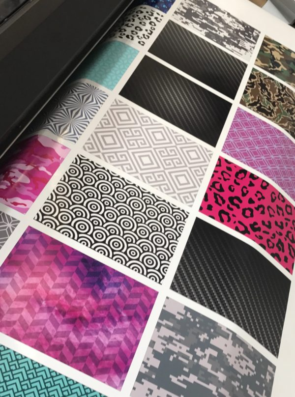 Wrap Sample Swatches