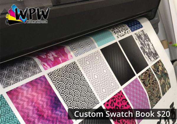 Custom Swatch Book - $20