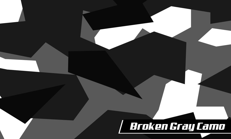 Broken Gray Camo