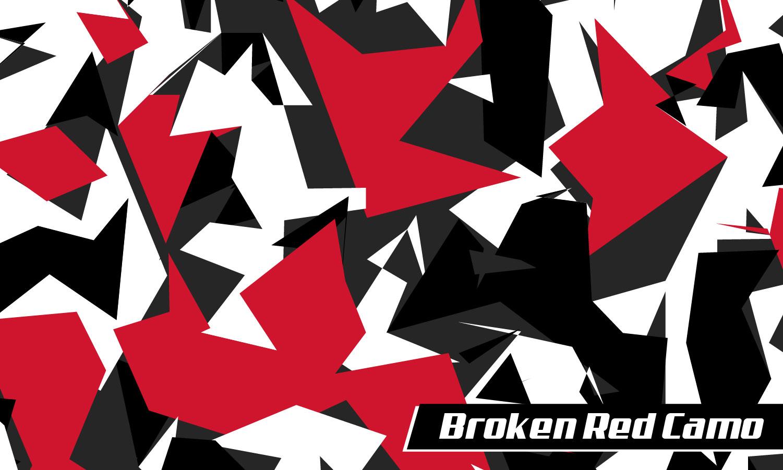Broken Red Camo