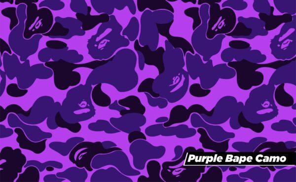 Bape Camo Purple