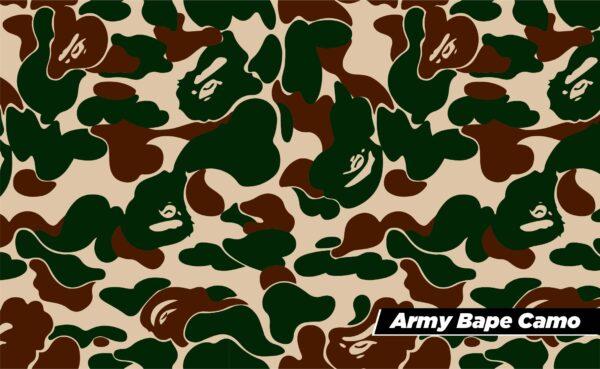 Bape Camo Army